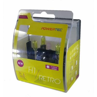 Ampoules Brazoline Powertec H1 jaune vintage