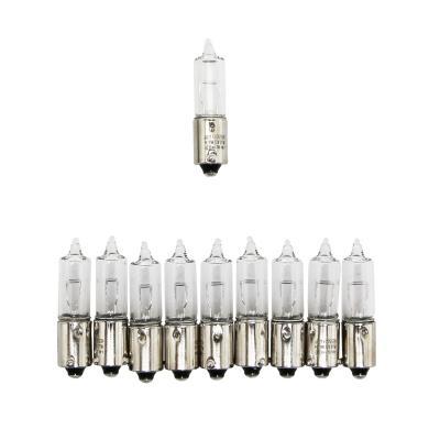 Ampoules Flosser 12V 21W H21 culot BAY9S avec ergots décalés blanches (x10)