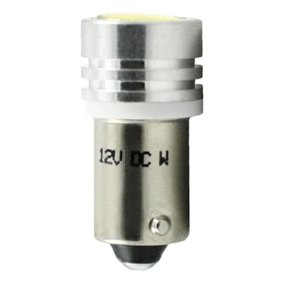 Ampoules High Power LED blanc T4W BA9S 12V 1.00W
