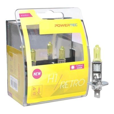 Ampoules jaune vintage H1 P14.5S 12V 55W homologué