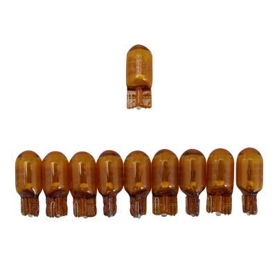 Ampoules Osram W2,1x9,5D 12V 5W Wedge orange (x10)