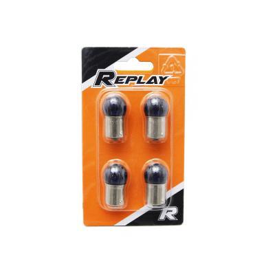 Ampoules Replay BA15S G18.5 12V 10W Bleu