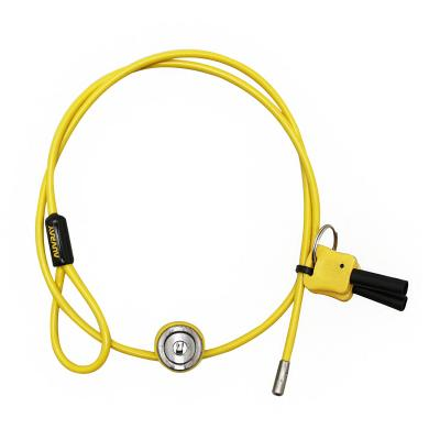 Antivol à câble Auvray multi-fonction 90 cm Ø4mm