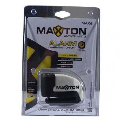 Antivol Bloque disque Maxton avec alarme