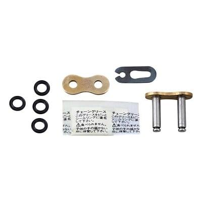 Attache rapide EK SRX2 pas 530 or à clip avec joints toriques
