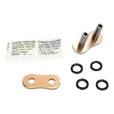 Attache rapide EK ZVX3 pas 530 or à sertir avec joints toriques