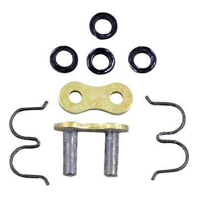 Attache rapide Renthal R4 SRS pas 520 or à sertir avec joints toriques