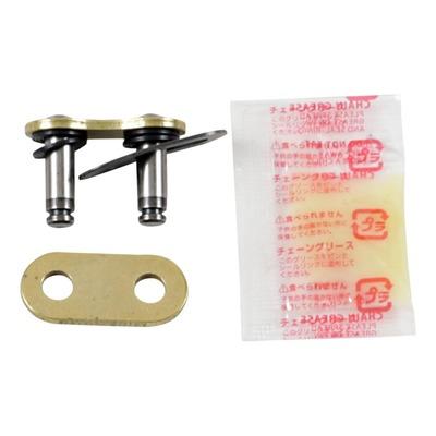 Attache rapide RK MXU pas 520 or à clip avec joints toriques