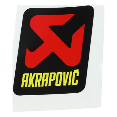 Autocollant Akrapovic 57 x 60 mm