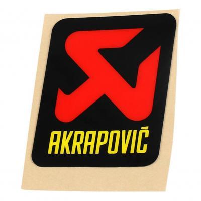 Autocollant Akrapovic 60 x 70 mm