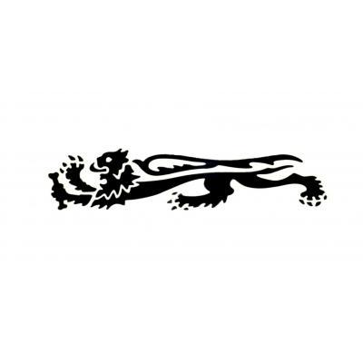 Autocollant lion Malossi 16,6 cm