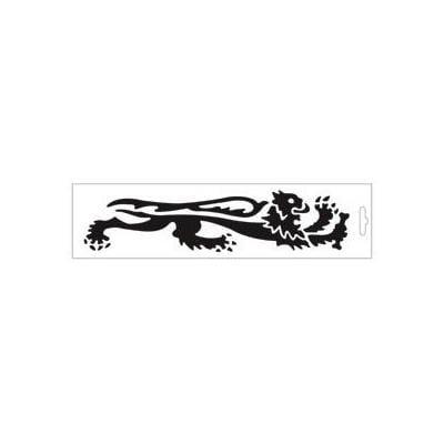 Autocollant lion Malossi 24 cm