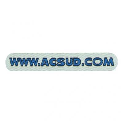 Autocollant Logo ACSUD.COM Encollage Arrière