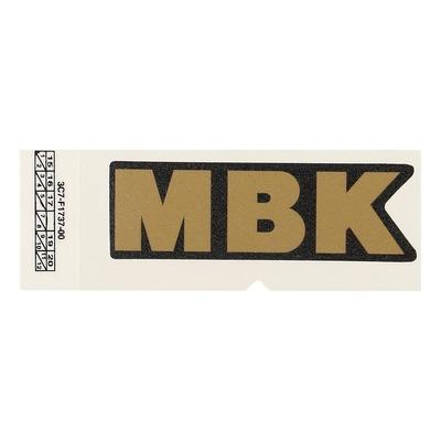Autocollant MBK Bronze 3C7F17370000 72X23 mm