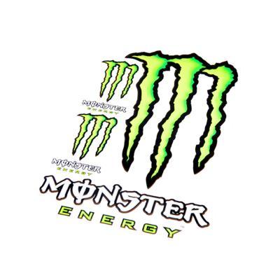 Autocollant Monster Energy griffe 50x35cm