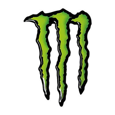 Autocollant Monster Griffe 3D 70x45 mm
