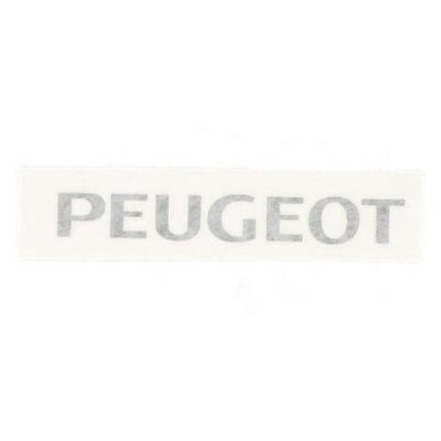 Autocollant noir Peugeot type origine