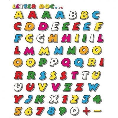 Autocollants kit lettres Doc 20x24