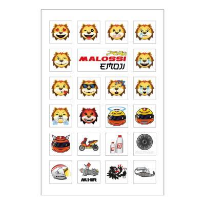 Autocollants Malossi Emoji