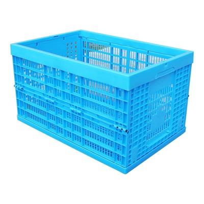 Bac plastique bleu pliable (L59xl39xh33)