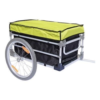 Bâche complète pour remorque vélo utilitaire