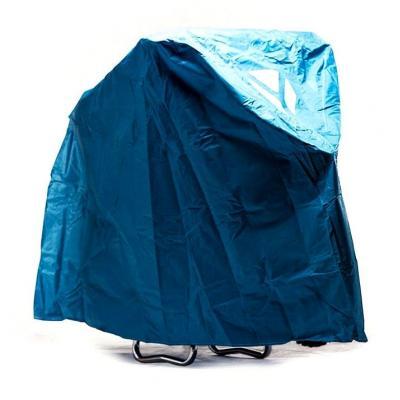 Bâche moto YCF bleu