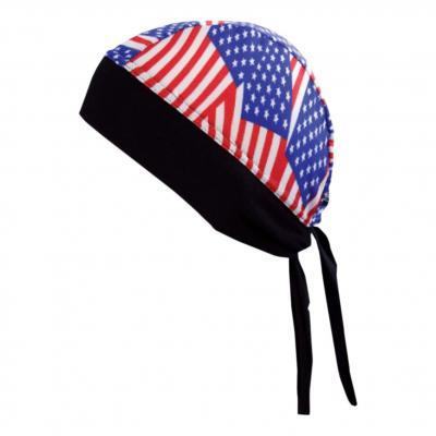 Bandana Shampa & Dirt Skins Z-Wrap Drapeau american