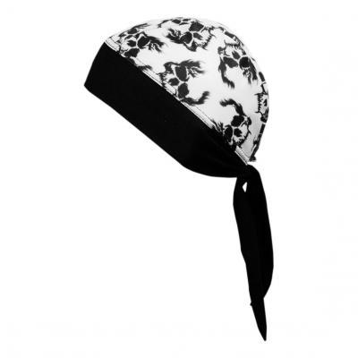 Bandana Shampa & Dirt Skins Z-Wrap Skulls noir/blanc