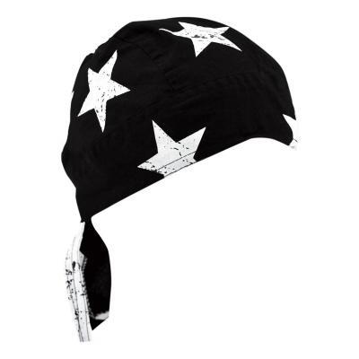 Bandana Zan Headgear Zandannas Flydanna® Drapeau américain noir