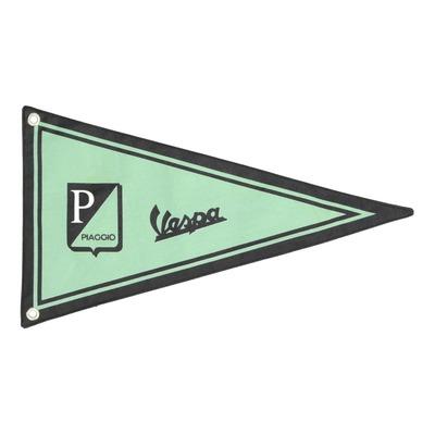 Banderole Vespa vert/noir