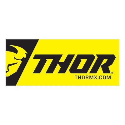 Bannière vinyle Thor 243x91cm jaune/noir