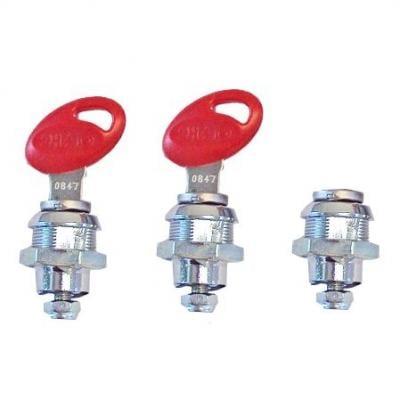 Barillets avec clefs pour top case Shad SH23 / SH35 / SH36