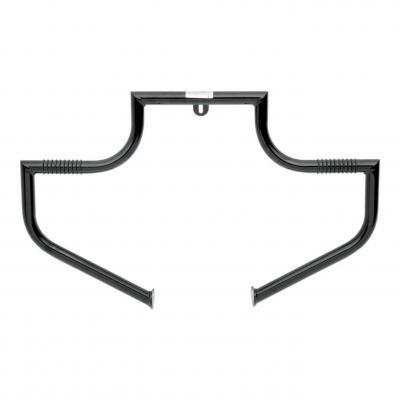 Barre d'autoroute Linbar moustache Lindby Harley Davidson Softail 00-17 noir
