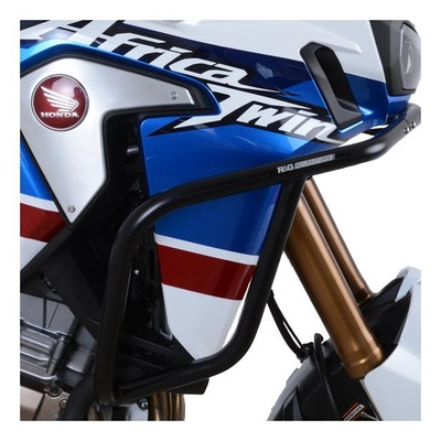 Barres de protection latérales R&G Racing gris Honda CRF1000L Afgrica Twin Adv Sport 18-19