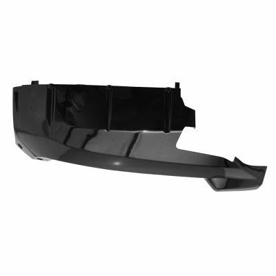 Bas de caisse droit Peugeot 50 Vivacity 08- noir brillant