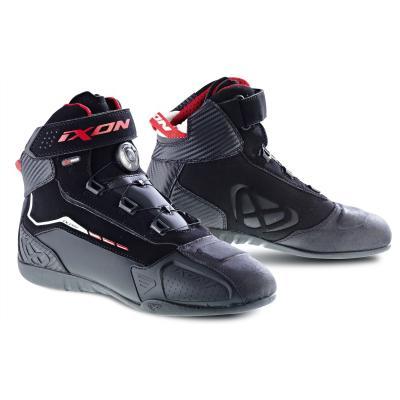 Baskets mixtes Ixon SOLDIER EVO noir/rouge