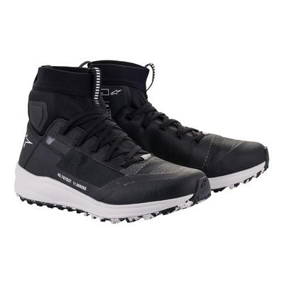Baskets moto Alpinestars Speedforce Shoes noir/blanc