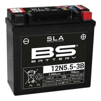 Batterie BS Battery 12N5.5-3B SLA 12V 5,5Ah activée usine