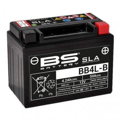 Batterie BS Battery BB4L-B 12V 4,2Ah SLA activée usine