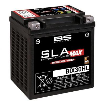 Batterie BS Battery BIX30HL 12V 30Ah SLA MAX activée usine