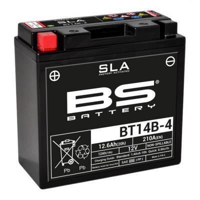 Batterie BS Battery BT14B-4 12V 12,6Ah SLA activée usine