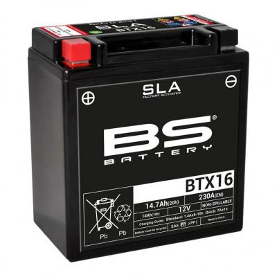 Batterie BS Battery BTX16 12V 14Ah SLA activée usine