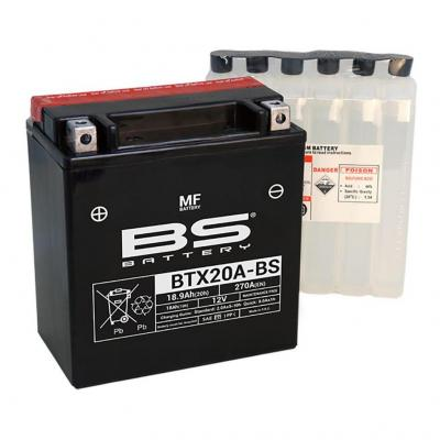 Batterie BS Battery BTX20A-BS 12V 18,9Ah MF avec pack acide