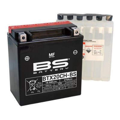 Batterie BS Battery BTX20CH-BS 12V 18,9Ah MF avec pack acide
