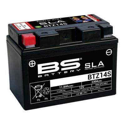 Batterie BS Battery BTZ14S 12V 11,8Ah SLA activée usine