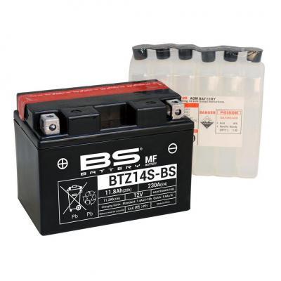 Batterie BS Battery BTZ14S-BS 12V 11,2Ah MF avec pack acide