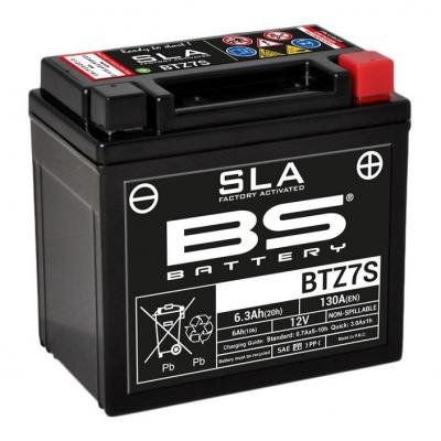 Batterie BS Battery BTZ7S 12V 6Ah SLA activée usine