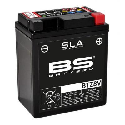 Batterie BS Battery BTZ8V 12V 7Ah SLA activée usine