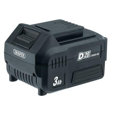 Batterie Draper D20 20V 3.0Ah Lithium-Ion