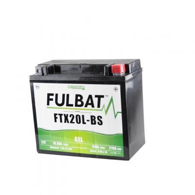Batterie Fulbat FTX20L-BS gel 12V 18Ah